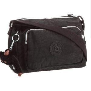 Kipling Reth Crossbody Shoulder Bag Black